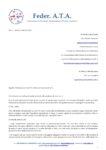 Sindacato FEDERATA Lettera al Ministro per la somministrazione del vaccino anche per il personale ATA